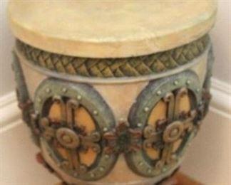 """185 - 17"""" Tall plaster urn"""