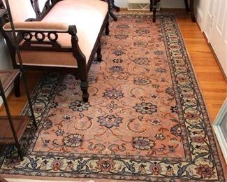 191 - Area rug 54 x 122