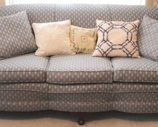 203 - Vintage overstuffed sofa 30 x 74 x 28
