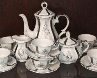 218 - Bavarian tea set