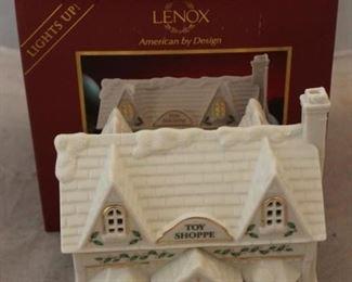 261 - Lenox Christmas Village Toy Shoppe - new in box