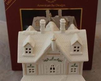 262 - Lenox Christmas Village House - new in box