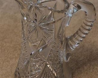 302 - Crystal pitcher