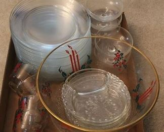 303 - Assorted glassware