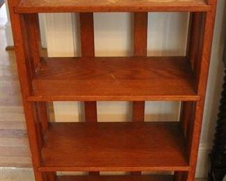 308 - Wood shelf 34 x 18 x 8