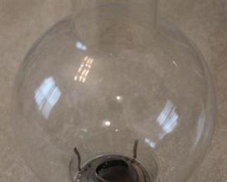 "317 - Oil lamp - 15"" tall"