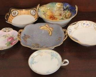337 - 6 Nippon bowls