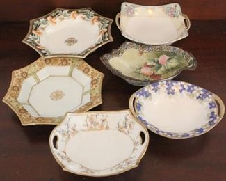 336 - 6 Nippon bowls
