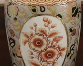 "339 - Hand painted Nippon vase - 13 1/2"" tall"