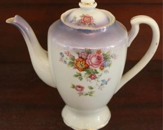 "341 - Occupied Japan teapot 8"" tall"