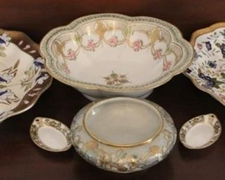 343 - 6 Pieces assorted Nippon dishes
