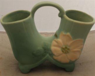"""387 - Weller vase 7"""" tall"""