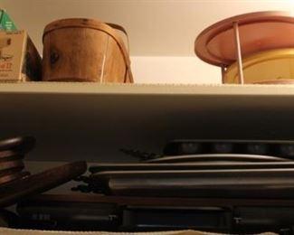 394 - 2 Shelf lots assorted items