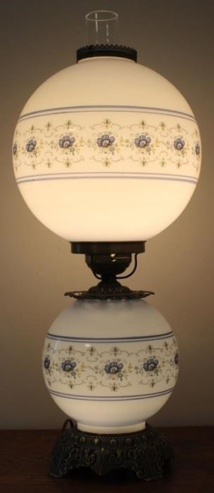 """433 - Gone with the Wind lamp 24"""" tall"""