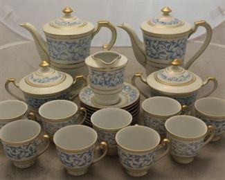 446 - Occupied Japan tea set grouping 21 Pcs