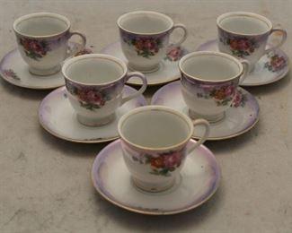 450 - Occupied Japan demitasse cups