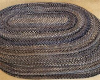 451 - 6 Braided rugs 28 x 48