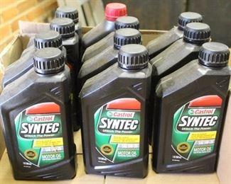 459 - Lot unused car oil
