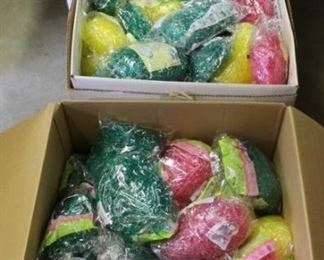 461 - 3 Boxes full of Easter grass