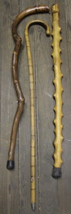 473 - 3 Vintage canes