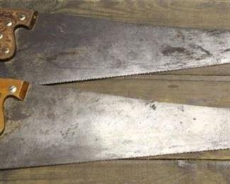 478 - 2 Wood saws