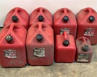 Buyer Premium 10% BP MFG Midwest Gas Cans Located in: Chattanooga, TN (6) 5 Gallon (1) 2 Gallon (1) 1 Gallon- Briggs & Stratton *Sold As Is Where Is*  SKU: K-10-C