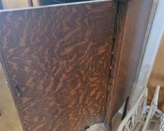 Antique Album Cabinet