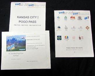 4 POGO Passes,  One PASS One Price, Kansas City Attraction Pass