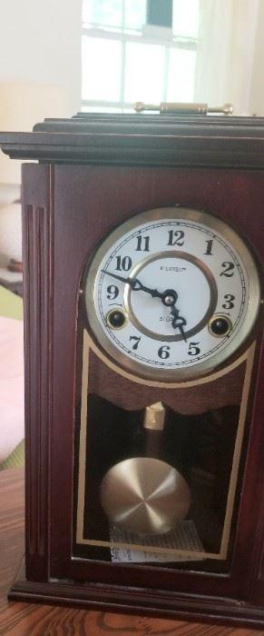 Several vintage clocks
