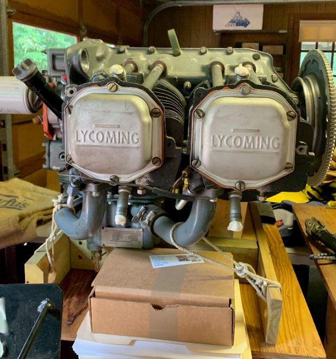 Lycoming  0-320  A28 - 150 HP Airplane Motor with Flight Logs