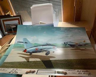 Airplane Memorabilia