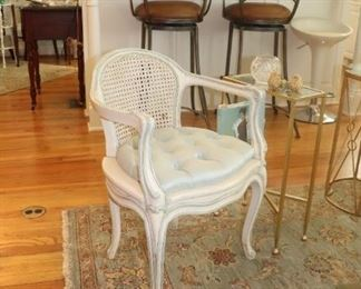 French Country  Cane Back Chair