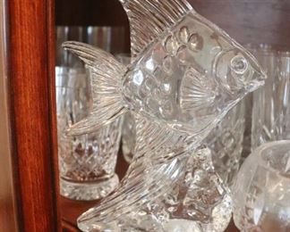 Waterford Crystal Fish