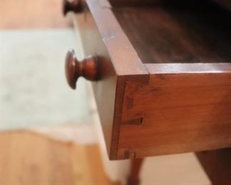 Mid 1800's Antique English Drop leaf Table.