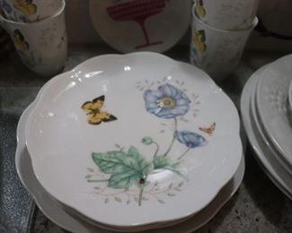 """Lenox Butterfly Meadow """"MONARCH""""  Plates"""