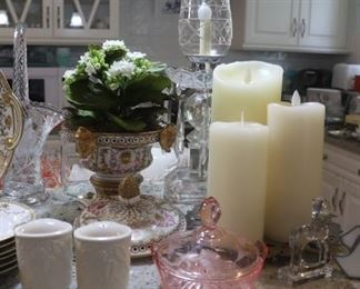 Chelsea House Compote with Lid