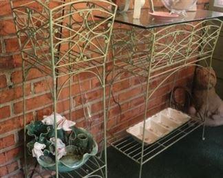 Vintage Plant stands