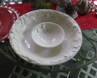 Williams-Sonoma Tuscan Olive Bowl
