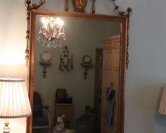 Beautiful Ornate Gold Mirror