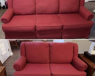Available for presale - $175.00 - Sofa and Rocking Loveseat.