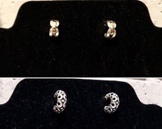 BOTH Sets - James Avery Earrings!