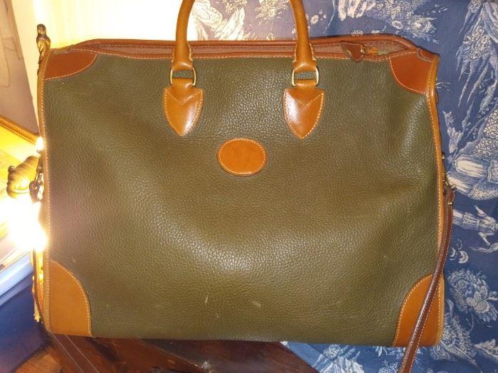 Dooney& Burke weekend leather tote  1990s 100.00