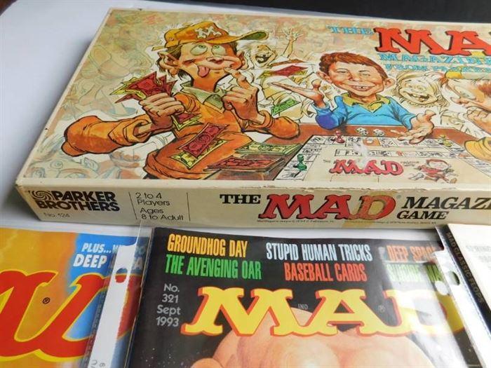 Mad Magazine Game & Editions (3 ea)