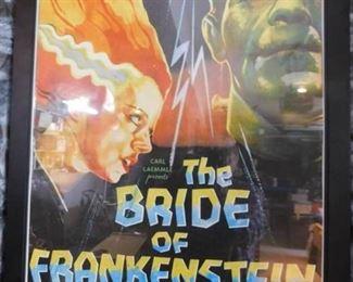 Bride of Frankenstein Framed Poster