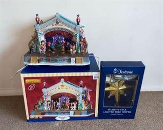 Lemax Nutcracker Suite Fontanini Nativity Star