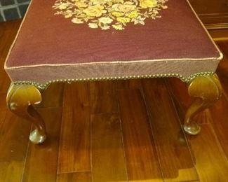 Antique ottoman