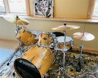 Sonor Drum Set ~ Like New (Used a Couple of Times)