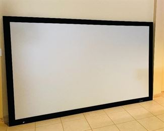 """120"""" Projection Screen w/ EPSON Projector"""