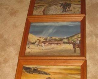 Peter Hurd prints