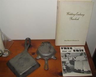 Griswold and Erie items
